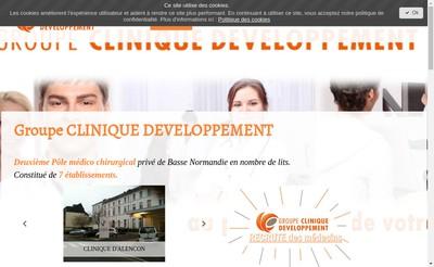 Site internet de Clinique Tous Vents