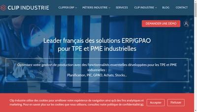 Site internet de Clip Industrie