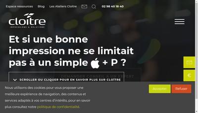 Site internet de Cloitre