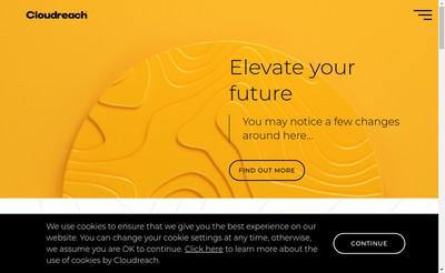 Site internet de Cloudreach