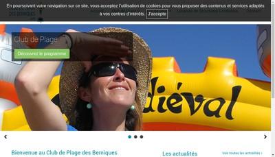 Site internet de Club des Berniques