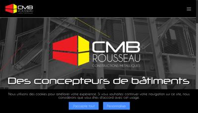 Capture d'écran du site de Societe Nouv Construct Metal Busigny Cmb
