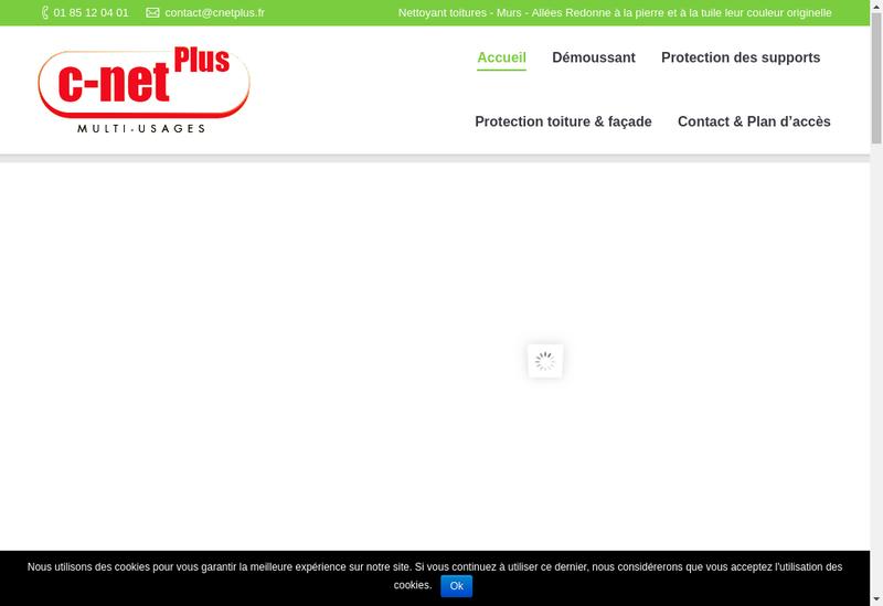 Capture d'écran du site de C Net