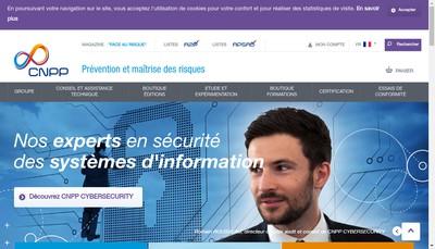 Site internet de Cnpp Entreprise