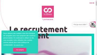 Site internet de CO-EFFICIENCE