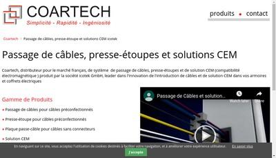 Site internet de Coartech