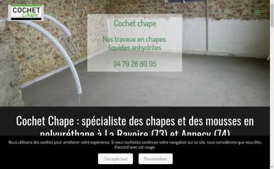 Site internet de Cochet Chape