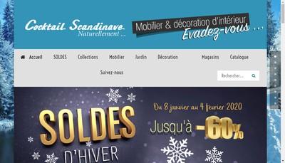 Site internet de Cocktail Scandinave