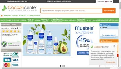 Site internet de Cocooncenter