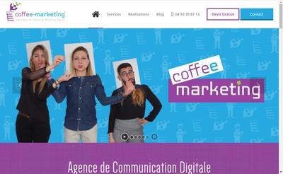 Site internet de Coffee-Marketing