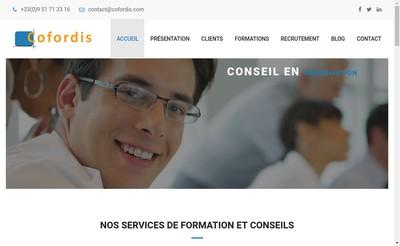 Site internet de Cofordis