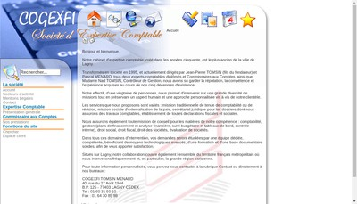 Site internet de Cogexfi Tmd et Associes