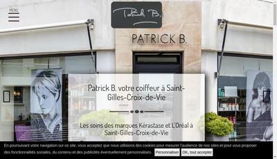 Site internet de SARL Patrick B
