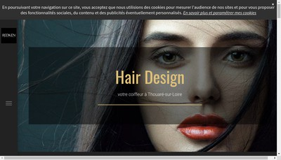 Site internet de Hair Design