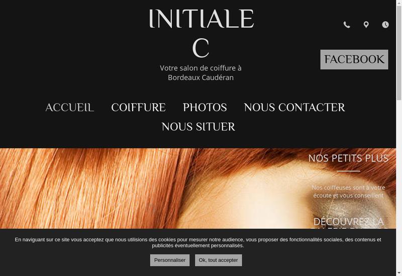 Capture d'écran du site de Initiale C