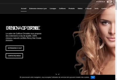 Site internet de Coiffure Christele