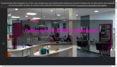 Site internet de Hair Fm Coiffure