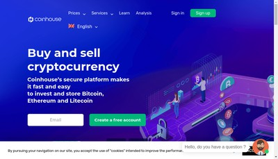 Site internet de La Maison du Bitcoin et Lmdb