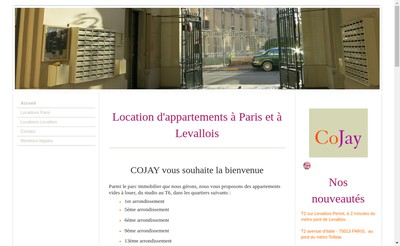 Site internet de Cojay