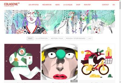 Site internet de Colagene