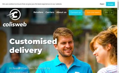 Site internet de Colisweb