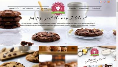 Site internet de Cookie Creations