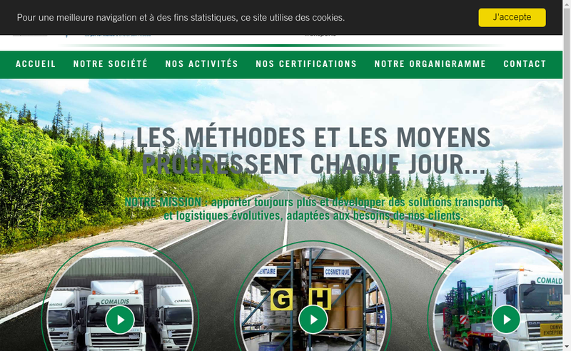 Capture d'écran du site de Nowwweb Com