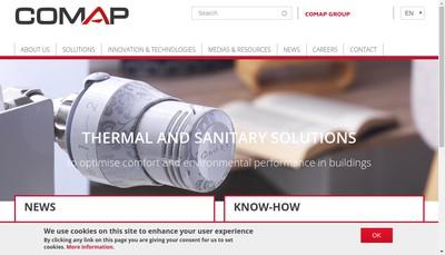 Site internet de Comap Group