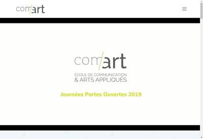 Site internet de Com'Art