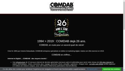 Site internet de Comdab 123 Love 123 Voyance