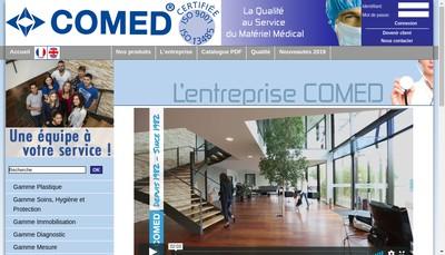 Site internet de Comed