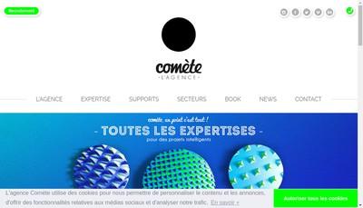 Site internet de Comete