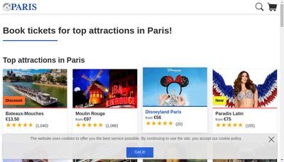 Site internet de Come To Paris