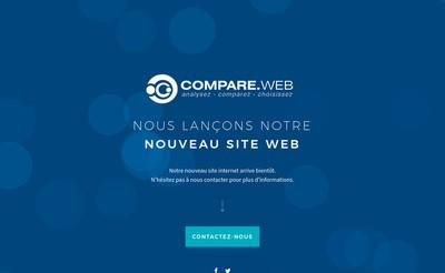 Site internet de Compare Web