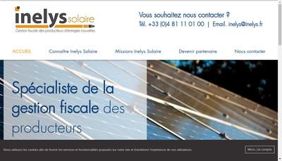 Site internet de Inelys Solaire, Universel Energie Expertis, Tuco Fiscalis, Enr Expertise
