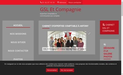 Site internet de Gsl et Compagnie