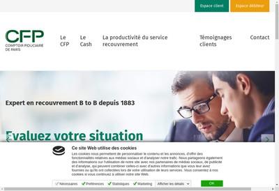 Site internet de Comptoir Fiduciaire de Paris SA