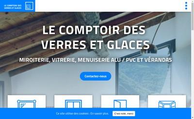 Site internet de Comptoir des Verres et Glaces