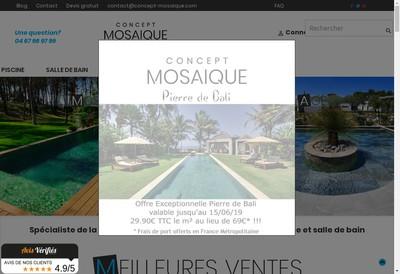 Site internet de Concept Mosaique