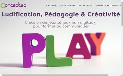 Site internet de Concepteo