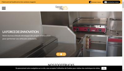 Capture d'écran du site de Ct'Autos