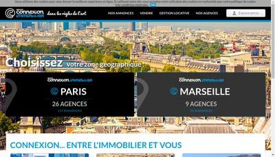 Site internet de Connexion Immobilier-Connexion Immo