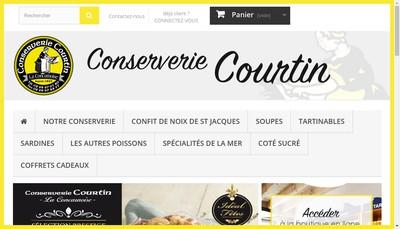 Site internet de Conserves d'Armor