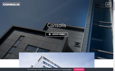 Site internet de Consolis Group