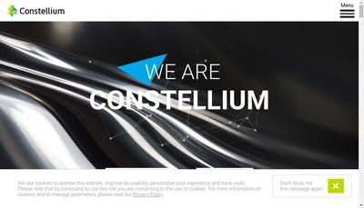 Site internet de Constellium Issoire