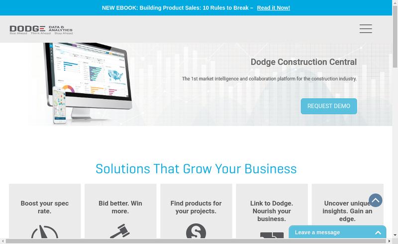 Capture d'écran du site de A+ Construction