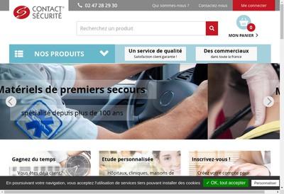 Site internet de Contact Securite