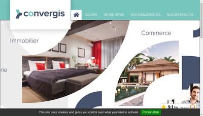 Site internet de Guy Hoquet Entreprises et Commerces