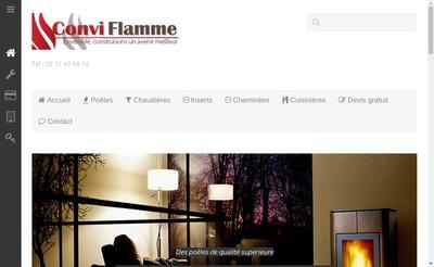 Site internet de Conviflamme