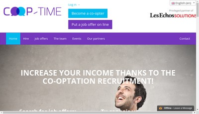 Site internet de Coop-Time